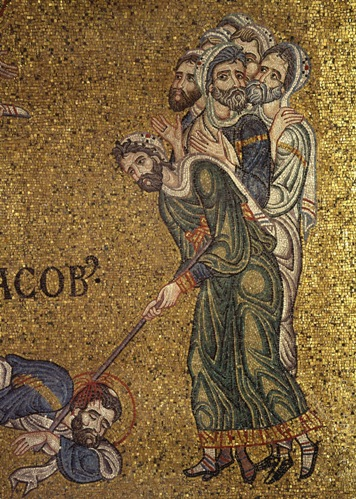 Фарисеи убивают апостола Иакова