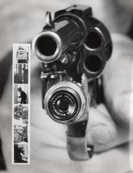 Фото из револьвера