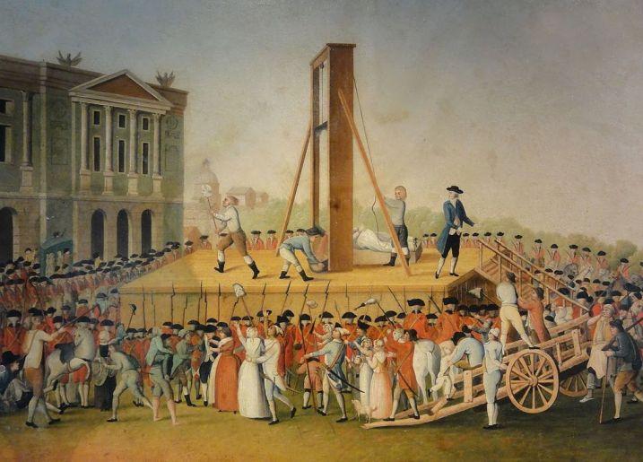 Казнь Марии Антуанетты 16 октября 1793