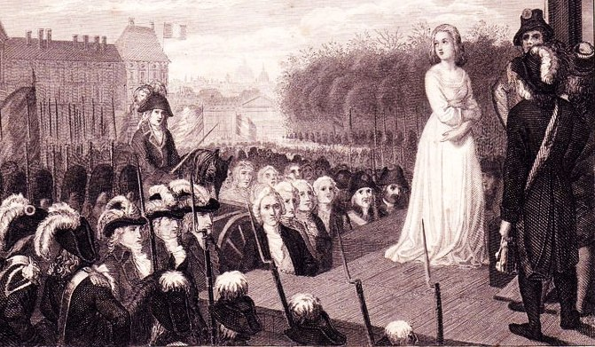 Казнь Марии Антуанетты