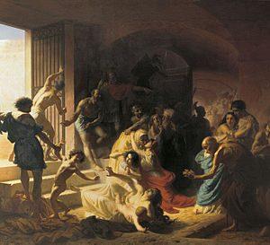 Константин Флавицкий. «Христианские мученики в Колизее»