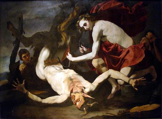 Наказание Марсия-картина