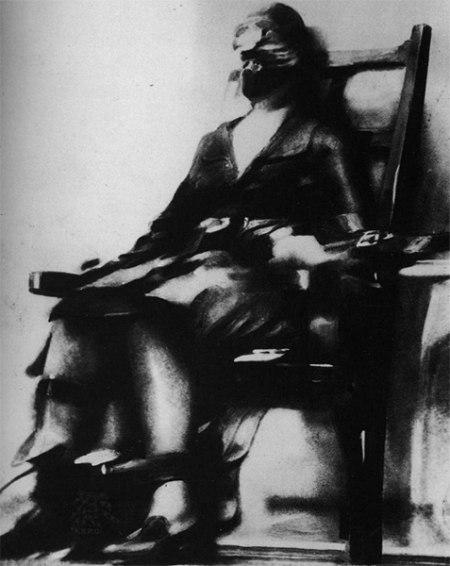 Рут Браун на электростуле