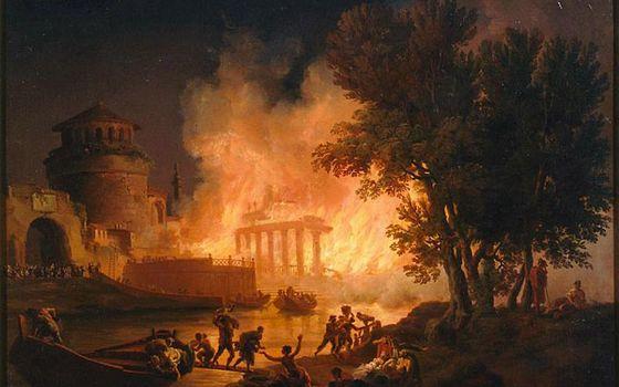 Самый известный пожар в истории: Рим, 64 год