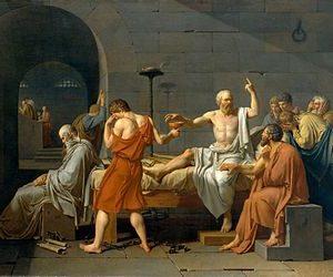 Жак Луи Давид. «Смерть Сократа»