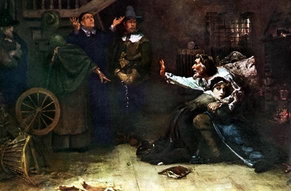 Арест ведьмы - картина
