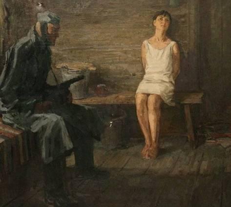 Допрос Зои Космодемьянской