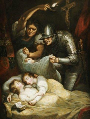 Джеймс Норткот Убийство принцев