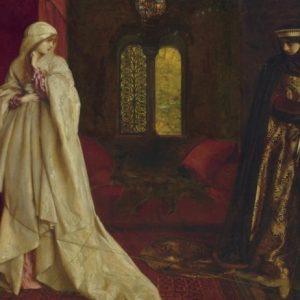 Франк К.Каупер. «Розамунда и королева Алиеонора»