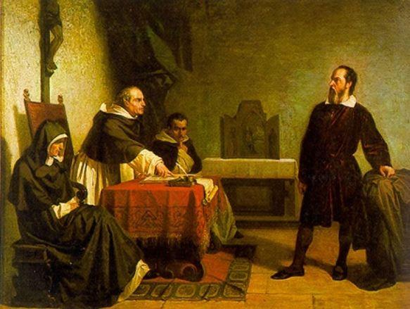 Галилей перед римской инквизицией