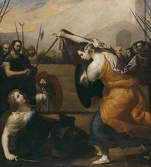 Хосе де Рибера. «Женская дуэль»
