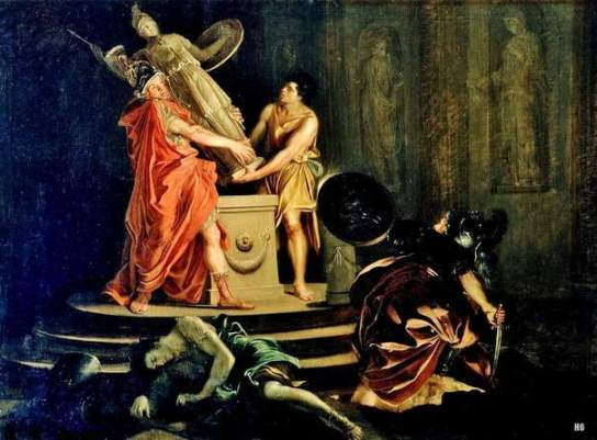 Ланди Гаспар. «Одиссей и Диомед похищают Палладий»