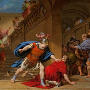 Луи Жан Франк Лагрин. «Убийство Сервия Туллия, царя Рима»
