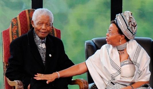 Мандела с Грейс