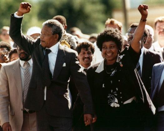 Мандела с Винни