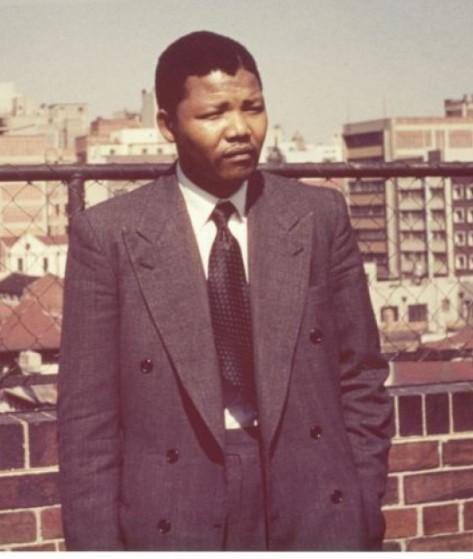 Мандела в молодости