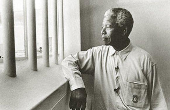 Мандела в Тюрьме