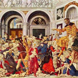 Маттео ди Джованни. «Избиение младенцев»