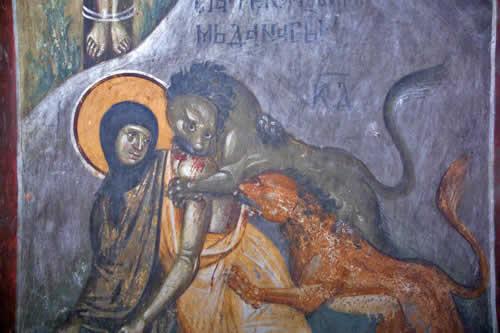 Мученичество Феклы Иконийской