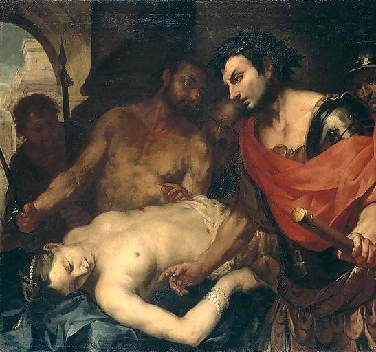 Нерон Над телом матери, Агриппины Младшей