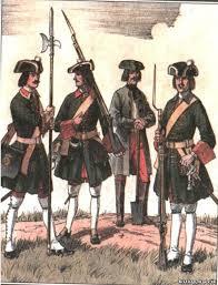 Петровские солдаты