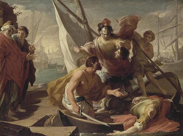 Смерть Гнея Помпея