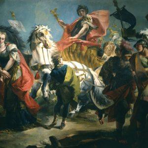 Джованни Тьеполо. «Триумф императора Аврелиана»
