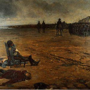 Жюль ле Блан. «Смерть генерала д'Эльбе»