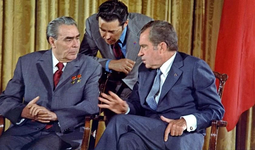 Брежнев с Никсоном