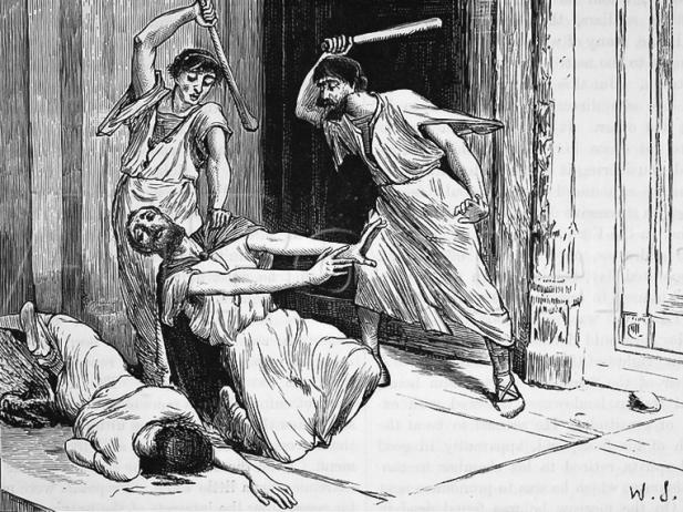 Смерть Тиберия Гракха