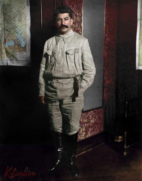 Сталин в гимнастерке