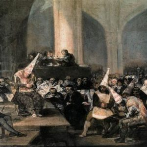 Франсиско Гойя. «Суд испанской инквизиции»