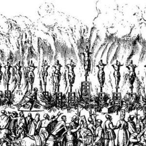 Аутодафе в Вальядолиде в 1559 году