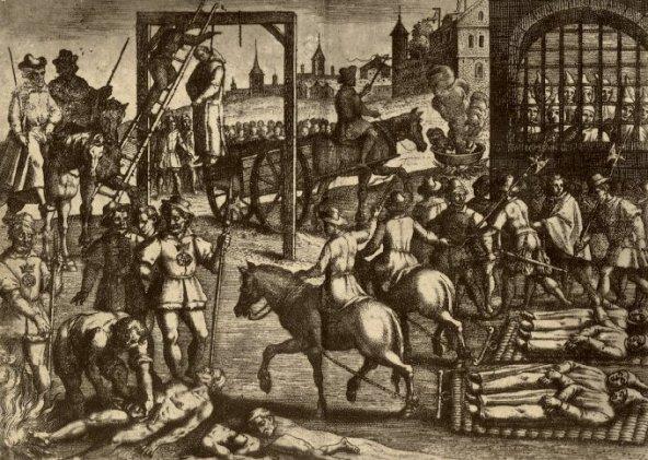 казнь монахов картезианцев