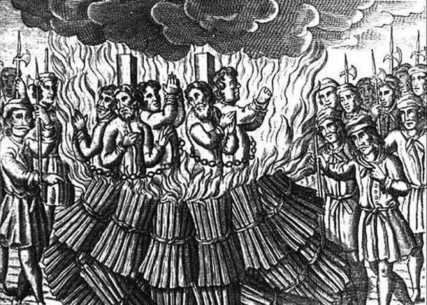 Сожжение катаров