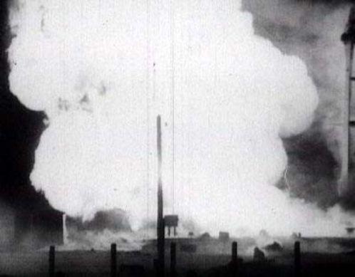Взрыв на Байконуре
