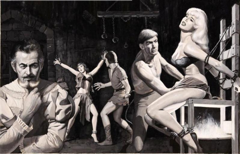 иллюстрации про пытки-1
