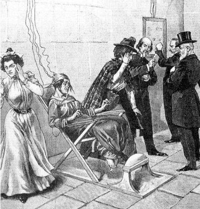 Казнь Лиз Плейс, 1899