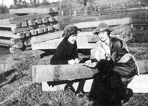Паулина Паркер с матерью