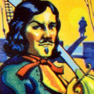 казнь пирата Боннета-1