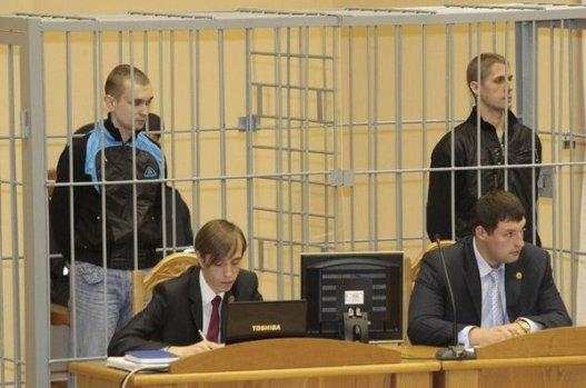 Коновалов и Ковалев за решеткой