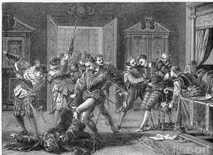 Убийство Генриха 3 Жаном Клеманом