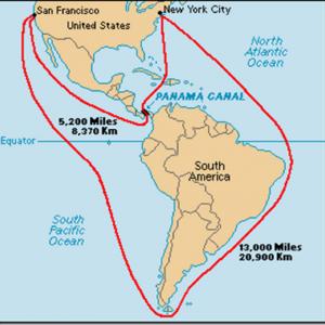 Панамский канал-1