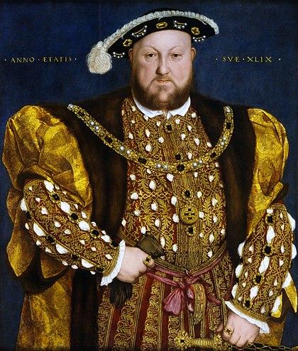 казни Генриха viii
