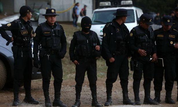 ГВАТЕМАЛА- полиция
