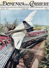 Газетные иллюстрации про авиапроисшествия-1