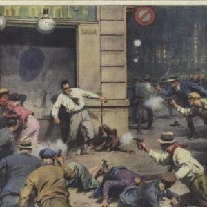 Газетные иллюстрации про убийство
