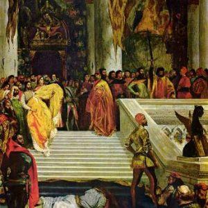 Картина Эжена Делакруа. «Казнь дожа Марино Фальеро».