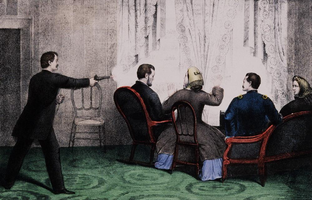 Убийство президента Линкольна в театре Форда