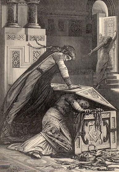 Покушение на меровингскую принцессу Ригунту